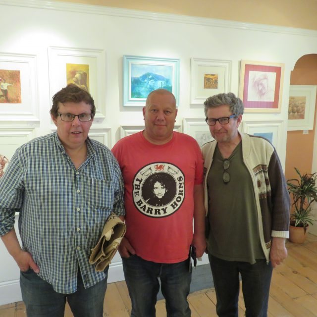 Richard Jones, Owain Young (Shwl Di Mwl) a Wyn Jones